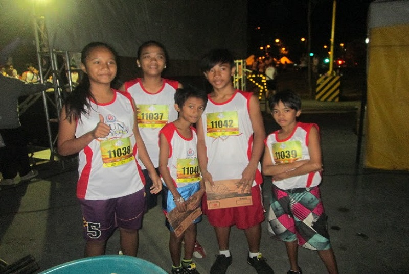 Bahay Aurora kids join CDO Run for Odyssey 2015
