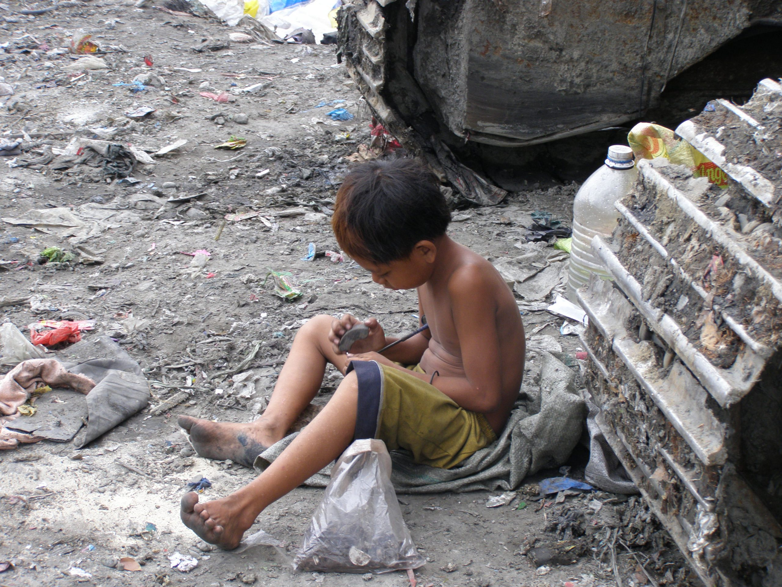 A child in need