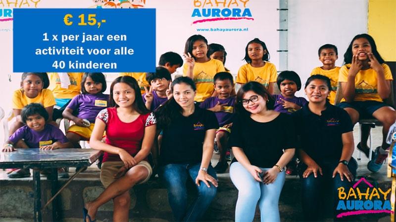 Geefladder Bahay Aurora 15 euro