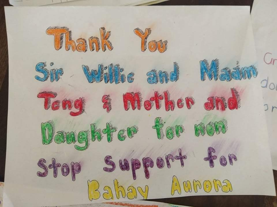 Thank you 'Mother&Daughter' company